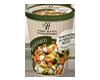 Minestrone di verdure ricco con curcuma