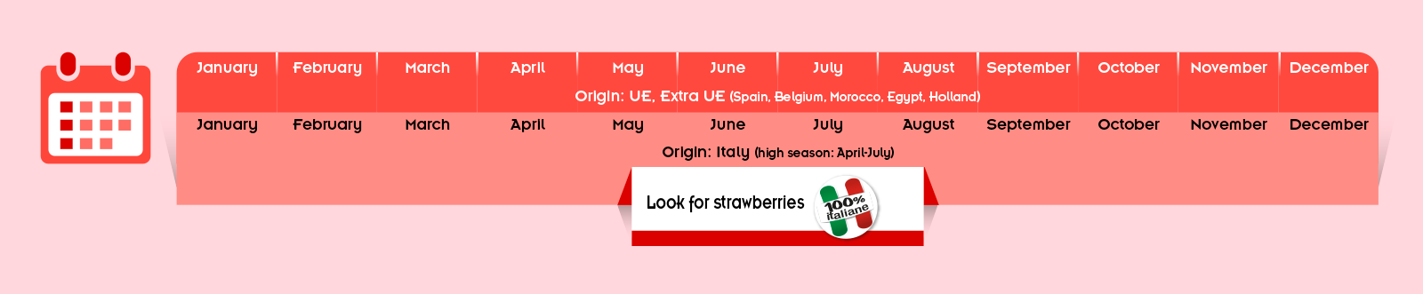 calendario fragole Spreafico