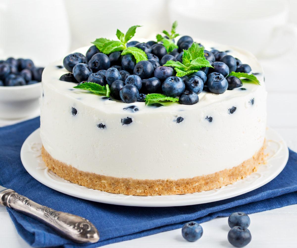 cheesecake ai mirtilli Spreafico